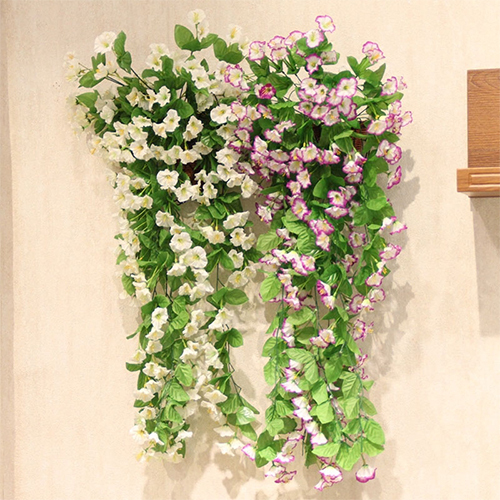 High quality wholesale artificial hanging flower vine