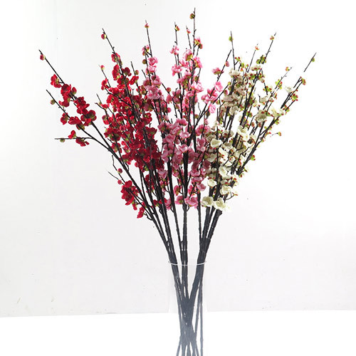 Factory direct sale artificial plum blossom branch for occas