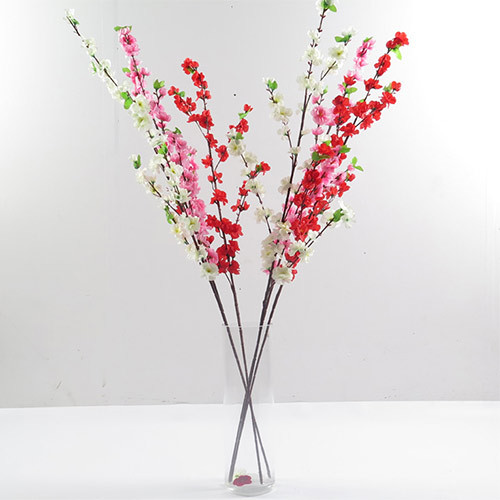 Factory wholesale artificial peach flower branch for sale
