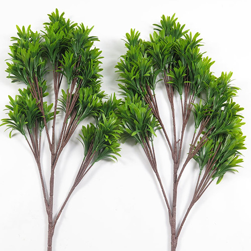 Artificial top quality podocarpus macrophyllus branch