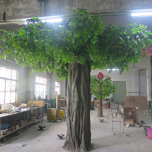 Artificial ficus tree fake banyan tree customized size