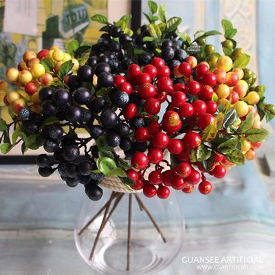 Artificial fruit plant branch for table decoration