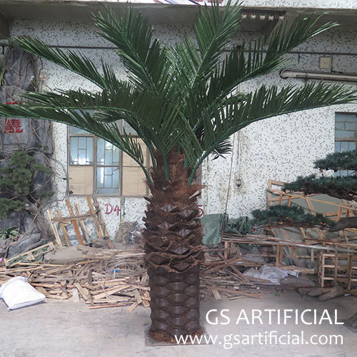 3m Artificial Palm Tree high quality fiberglass