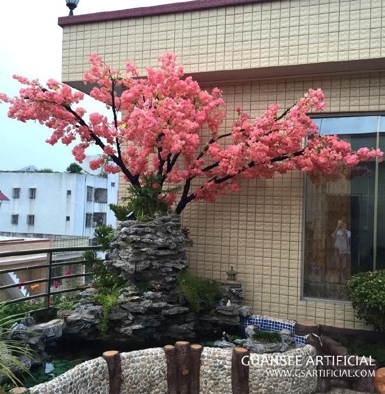Ornamental Cherry Blossom Tree Of Wedding Or House Decoration