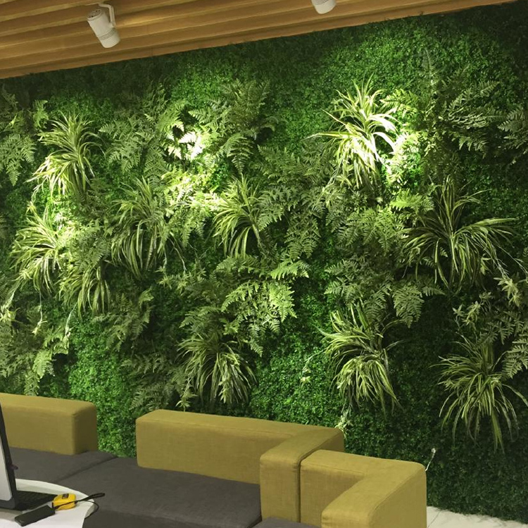 artificial leaves plant wall