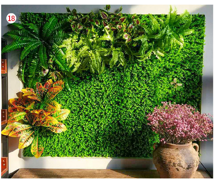 Green wall system wholesale artificial plant
