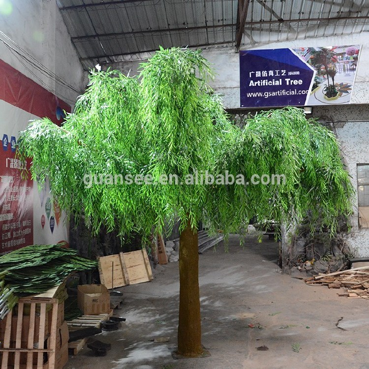 Artificial weeping willow tree fake big tree fiberglass