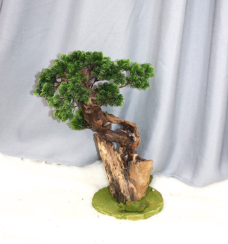 simulation home decoration pine tree bonsai