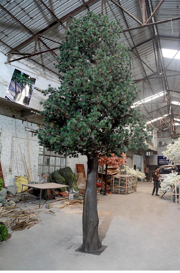 Artificial Tree Decor High Quality Big Pine Tree Bonsai For Decoration