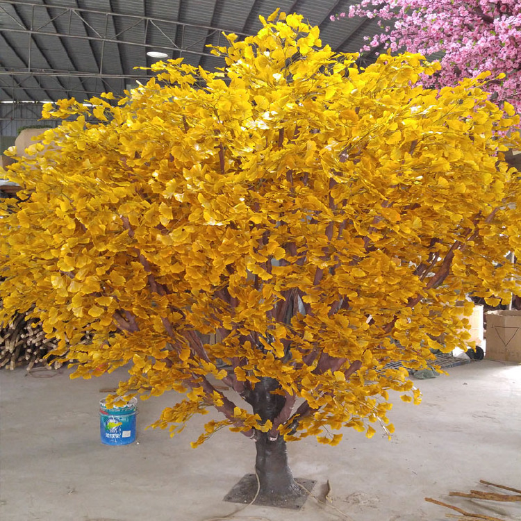 artificial Ginkgo tree