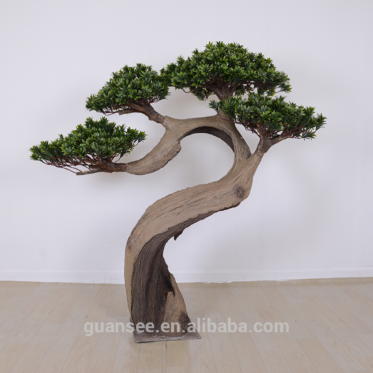 Artificial pine tree cement fiberglass