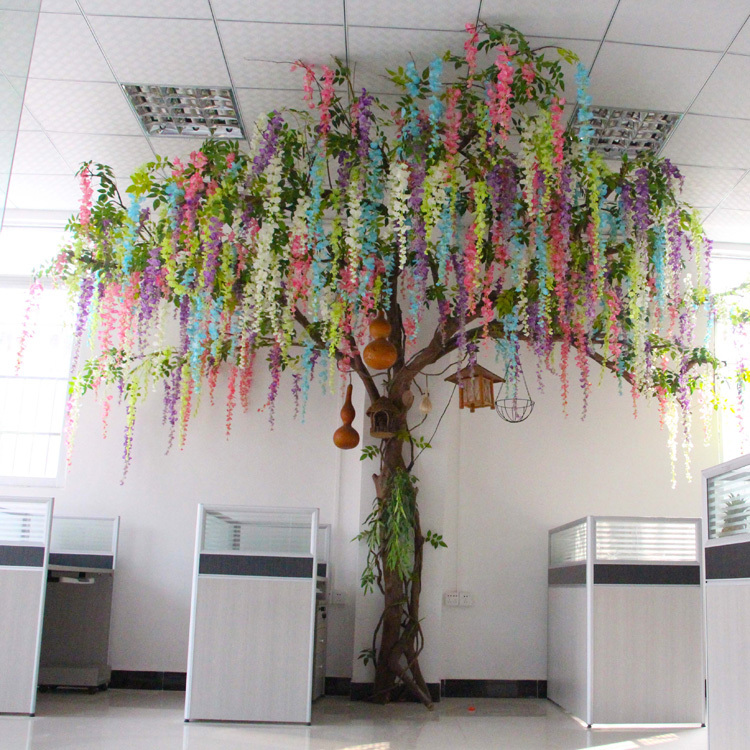3.5m Artificial gorse wisteria tree
