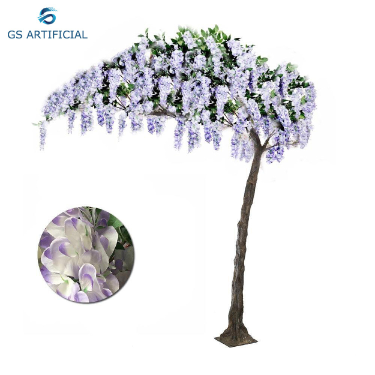 Artificial Wisteria Tree For Wedding Decoration Arches