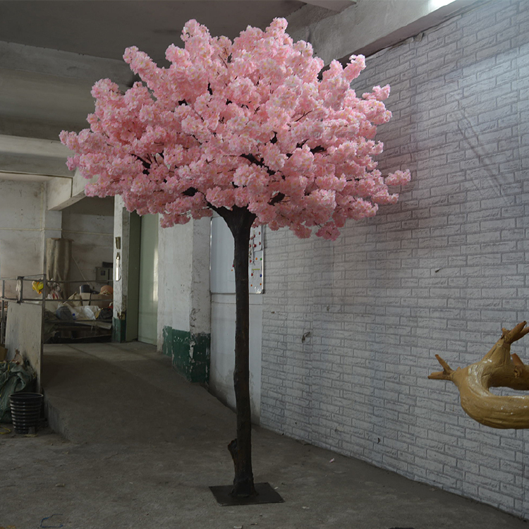 Indoor Plants Artificial Cherry Blossom Tree For Wedding Decoration