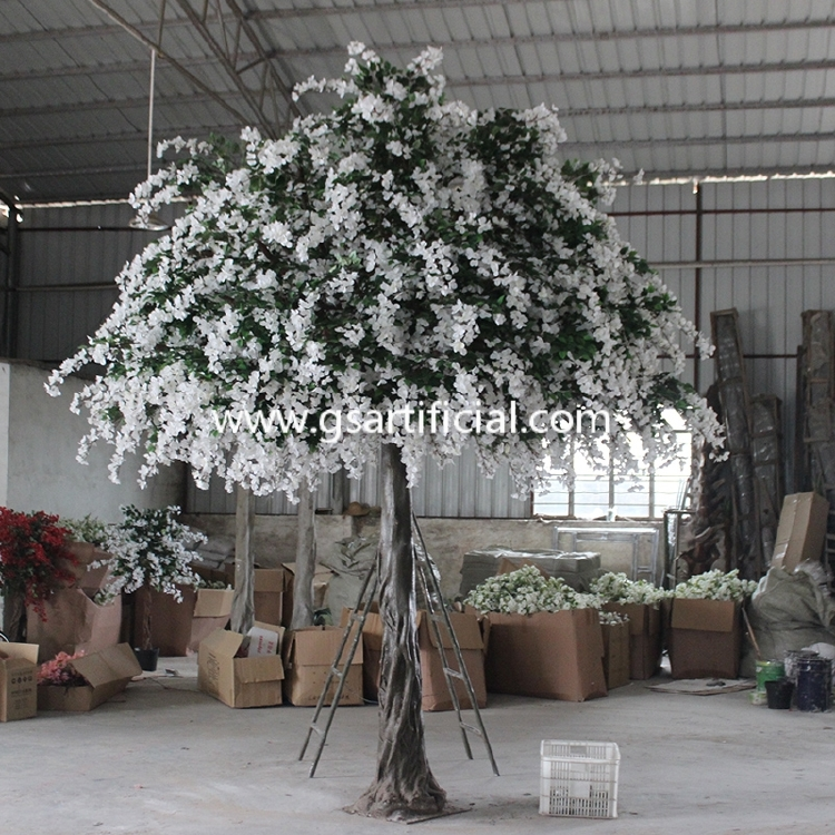 4.3m high outdoor artificial wisteria tree