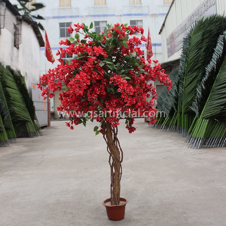 flower tree red flower artificial rhododendron