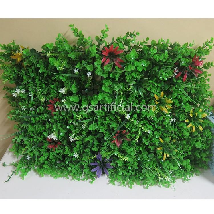 artificial hedge plant wall garden 40*60cm grass panel