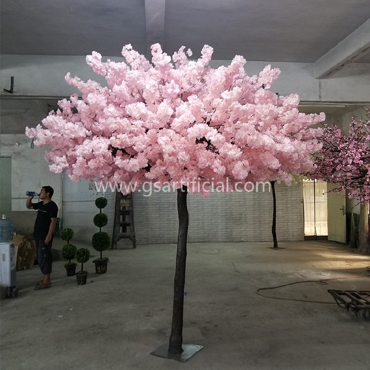 artificial cherry blossom tree for wedding decoration