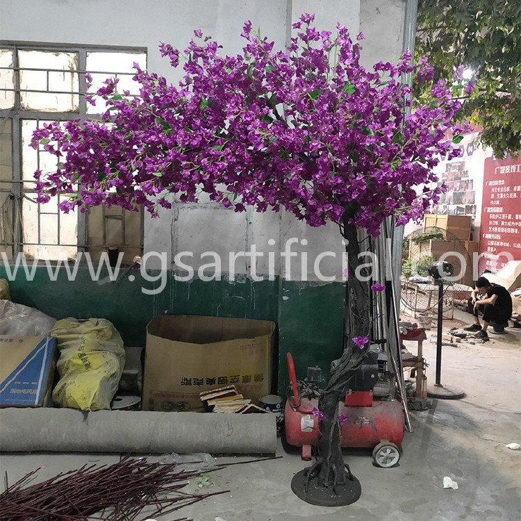 GST081 silk bougainvillea blossom tree arch for decoration
