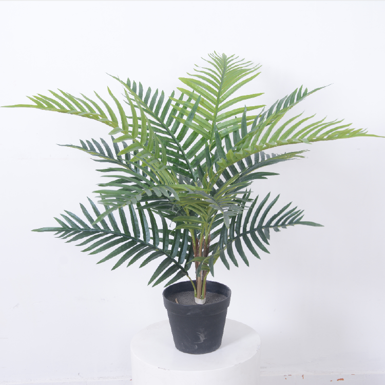 Wholesale Indoor Artificial Palm Tree Small Potted Palm Tree