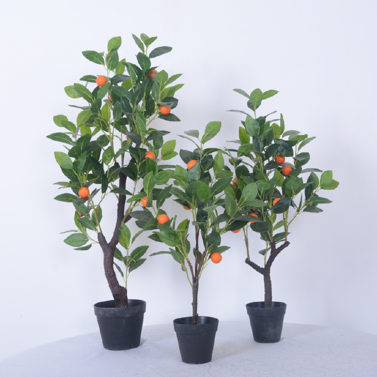 Artificial Orange Tree Bonsai for Home Decoration
