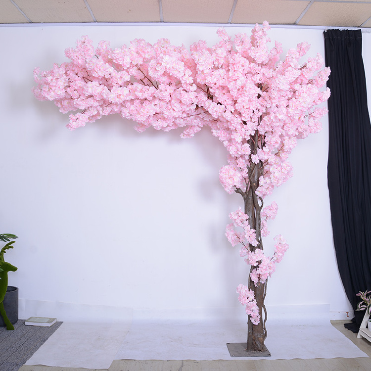 8ft artificial cherry blossom tree arch tree pink flowers