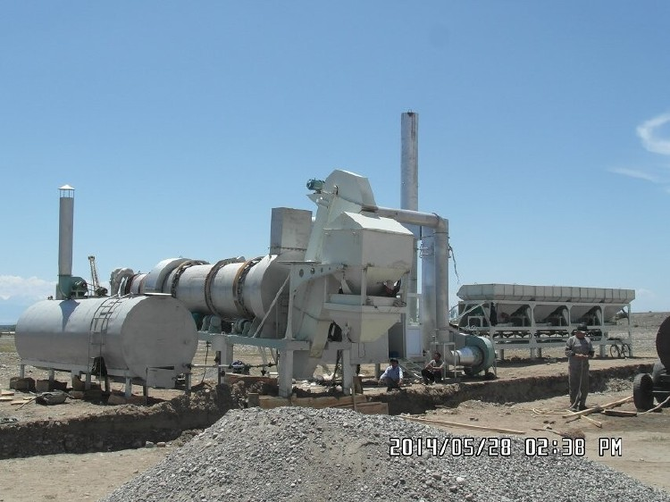 The CAP Series is an asphalt mixing plant