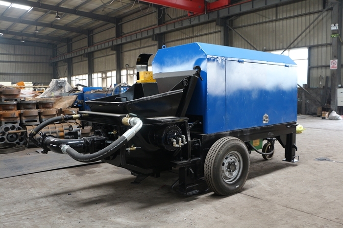 Diesel Engine Construction Concrete Mixer Pump For Materials