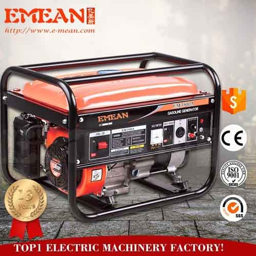 2.5kw generator gasoline from Emean factory