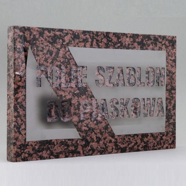 Manufacture Self Adhesive Vinyl Sandblast Stencil Plastic Film
