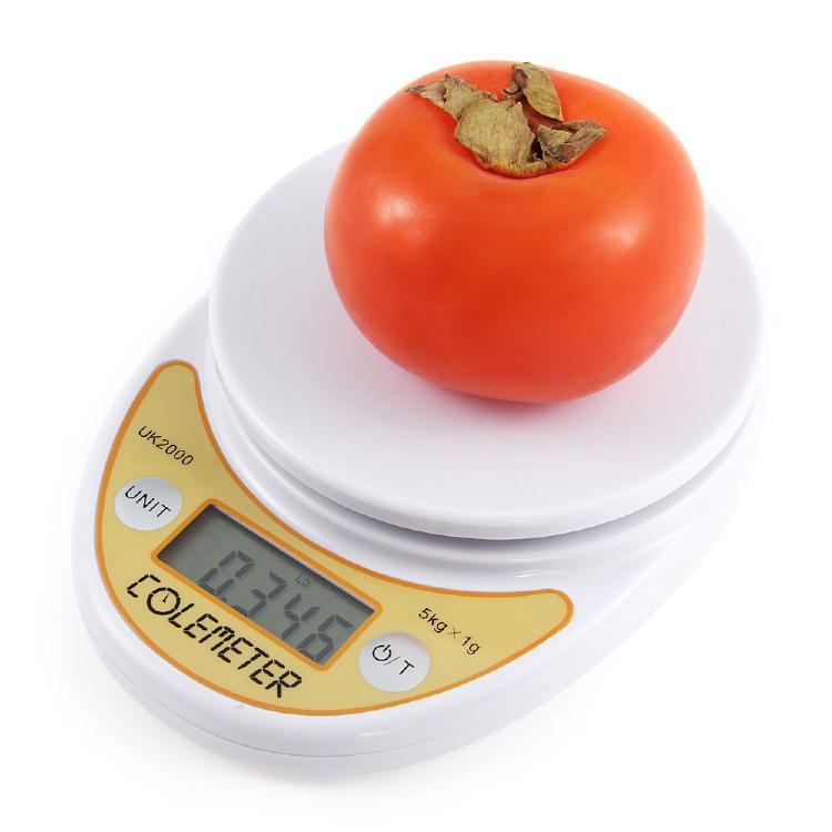 COLEMETER I161 5KG/11LB 1g Digital LCD Kitchen Food Cooking