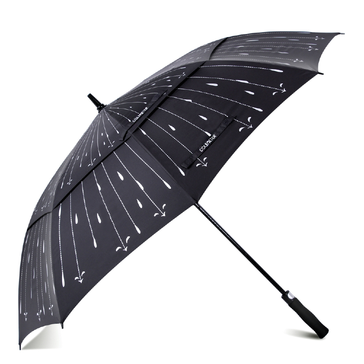 62 inch Automatic Open Golf Umbrella - COLEMETER Oversized D