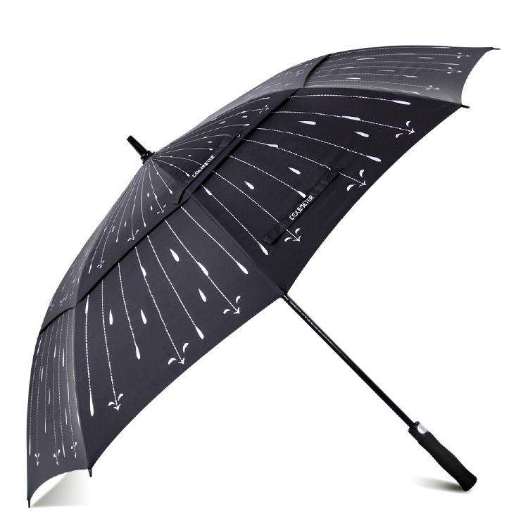 62 inch Automatic Open Golf Umbrella - COLEMETER Oversized D