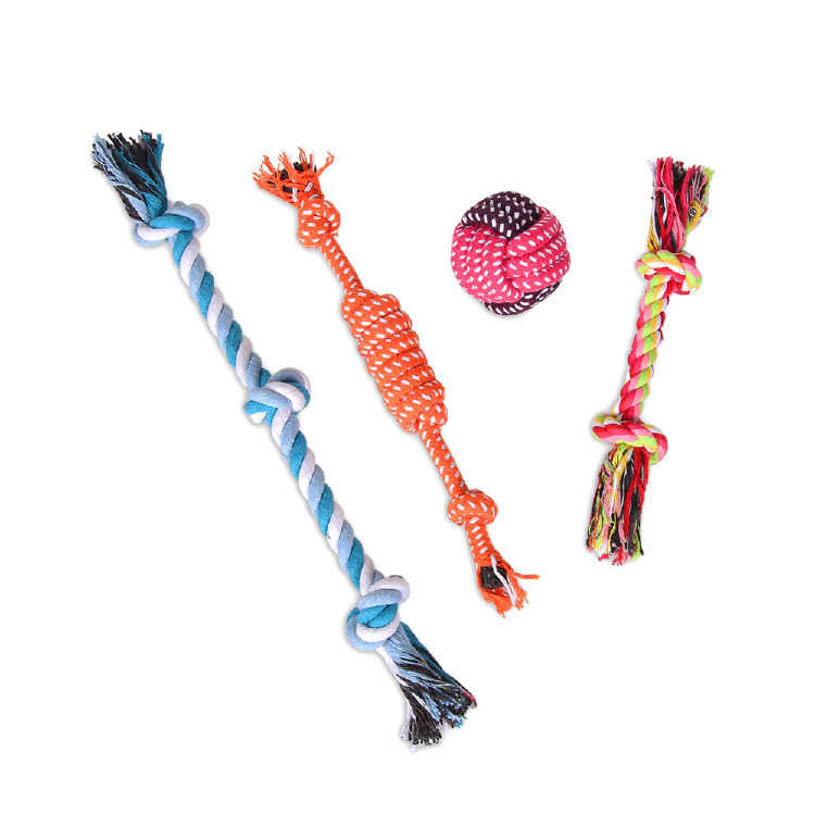 Dog Chew Toys, Pet Toys Dog Puppy Dog-Rope Ball Pets Gift fo