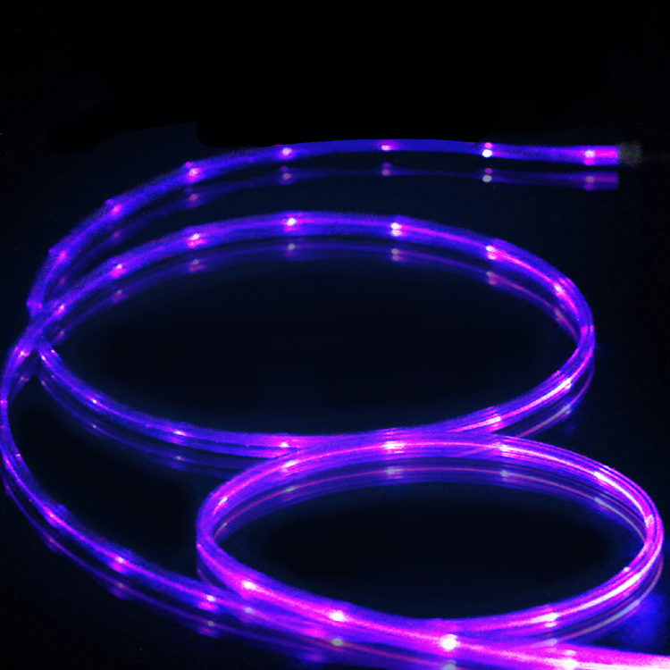 LED Light Micro USB Charger Data Sync Cable