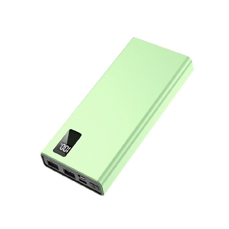 F02 10000mAh power bank mobile con 3 porte di potenza totale