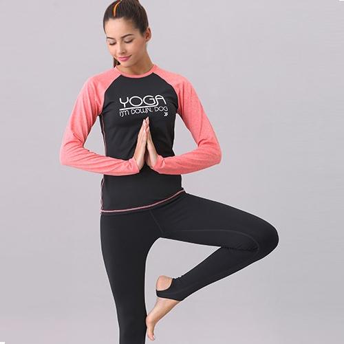 OEM Long sleeves women yoga wear