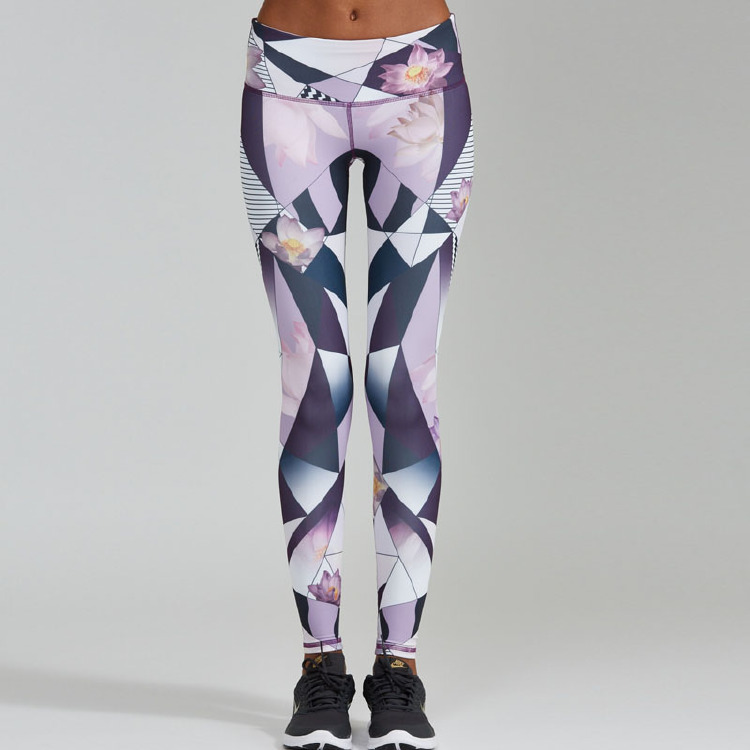 Printing tights woman sport leggings