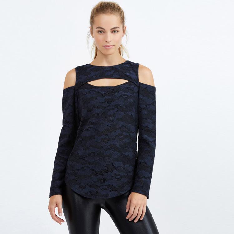 OEM special Design women long sleeves sport wear