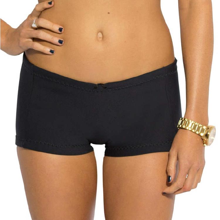 黑色泳裤与您的自定义徽标批发