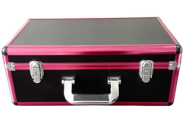 Professional Make Up Case with Lights and Cable and bottom-