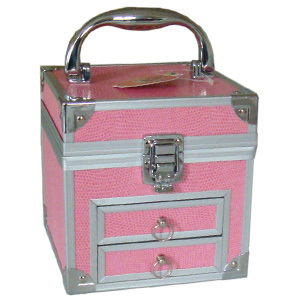 Jewelry case with two drawers - JM003