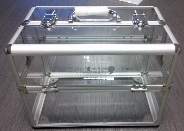 Transparent Hairdressing Cases- HD012