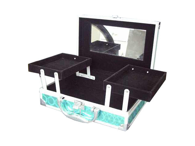 Beauty Carrying Gift  Case with Two Extendable Trays-JM067#