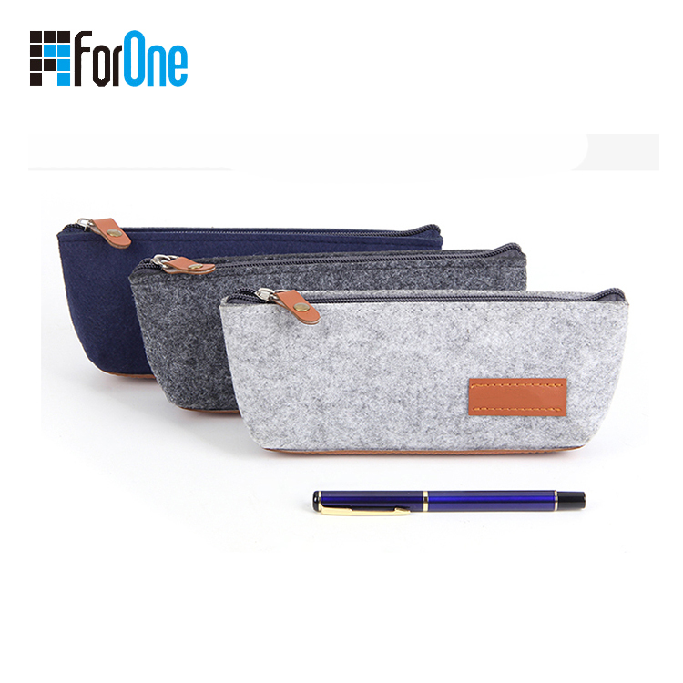 environmental felt pencil pouch