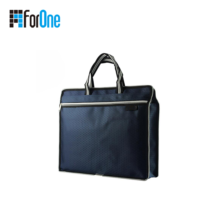 document bag with zipper