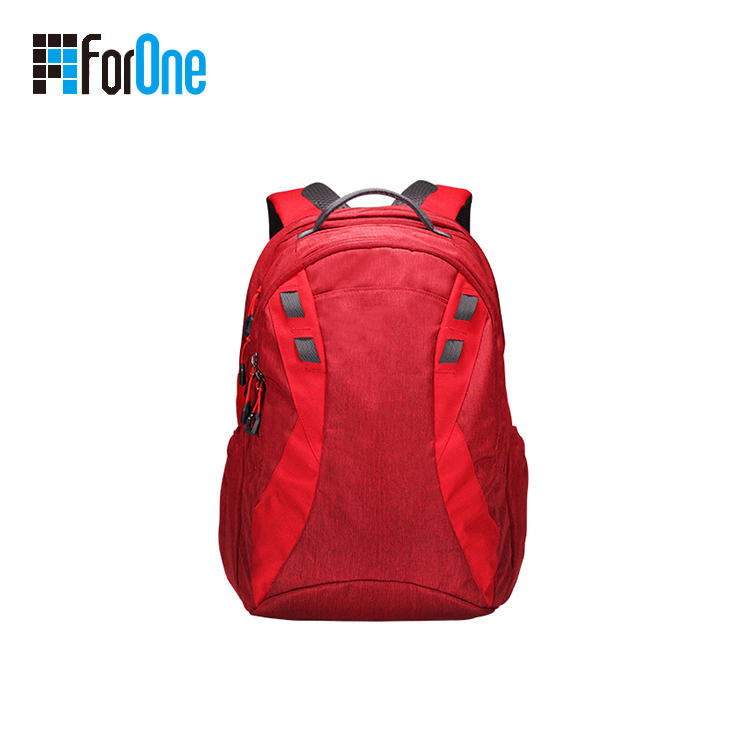 red backpack for fashion girls