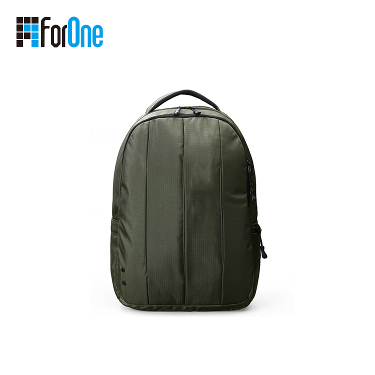 man's backpack