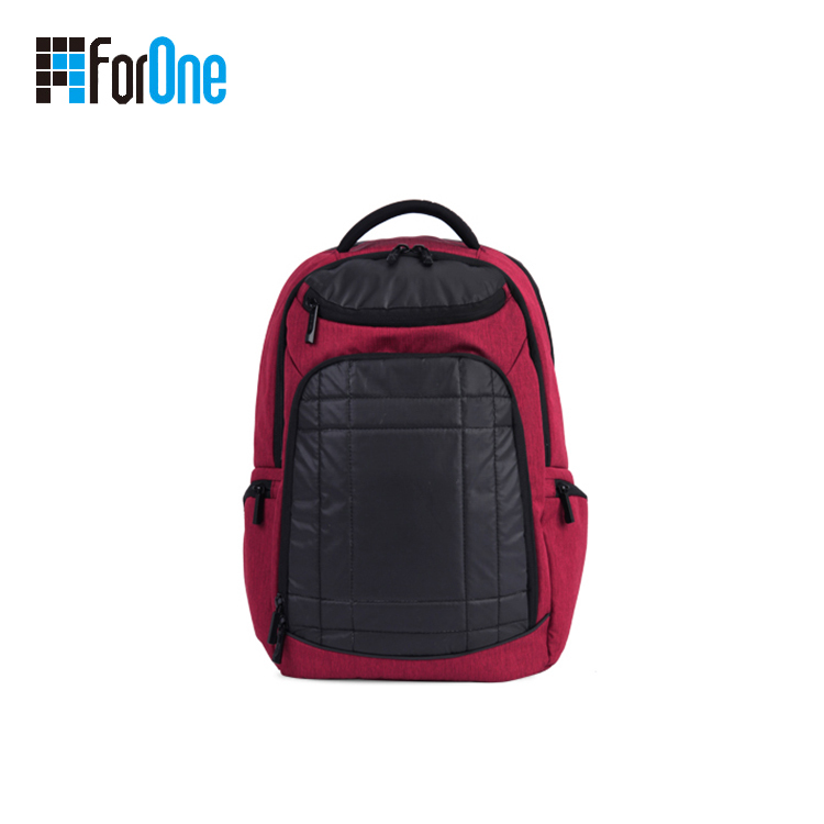 backpack with PU leather
