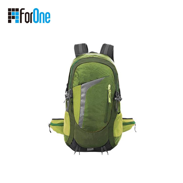 绿色登山包背包